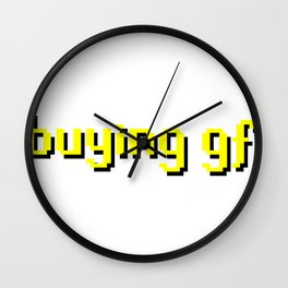 Buying GF Wall Clock