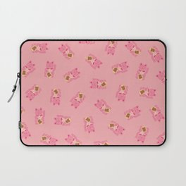 Lucky Cat in Pastel Pink Laptop Sleeve