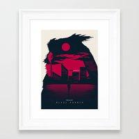 blade runner Framed Art Prints featuring Blade Runner by Inno Theme