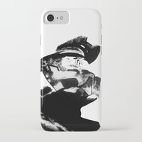 master chief iPhone & iPod Cases featuring Master Chief by drass