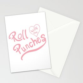 Roll With The Punches Stationery Cards