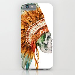 Skull 03 iPhone Case