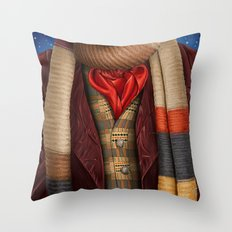 The Fourth Doctor Throw Pillow