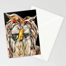 Flirtatious Owl Stationery Cards