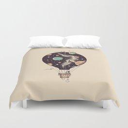 Interstellar Journey Duvet Cover