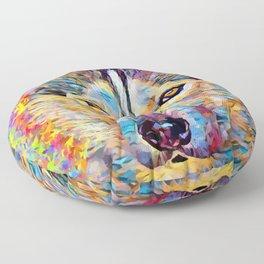 Husky 6 Floor Pillow