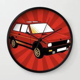 Yugo! Wall Clock