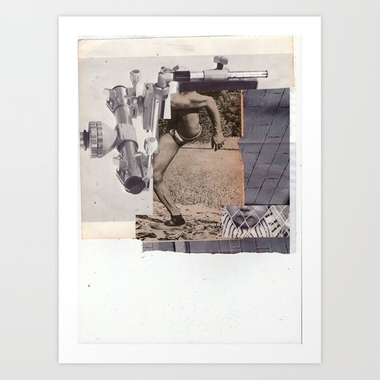 J. Art Print