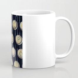 Strawberry typewriter keys Coffee Mug