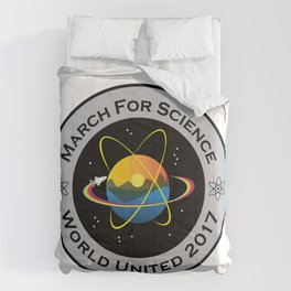 March For Science Astronaut Comforters