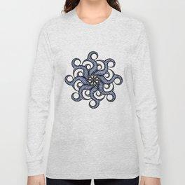 Reverse in blue Long Sleeve T-shirt
