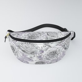 FLOWERS WATERCOLOR 30 Fanny Pack