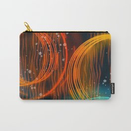 Colorful Abstract Circles Carry-All Pouch
