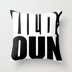 Wild & Young Throw Pillow