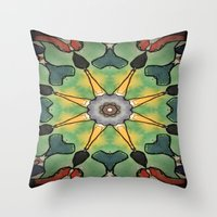 water color Throw Pillows featuring Water Color by Laurkinn12