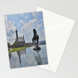 Chapel and Infinity Pool Stationery Cards