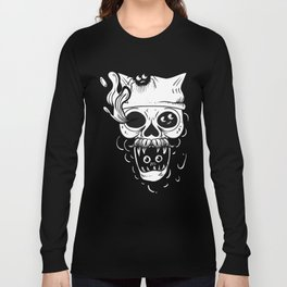 Skull and spiders Long Sleeve T-shirt