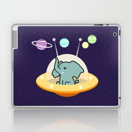 Astronaut elephant: Galaxy mission Laptop & iPad Skin