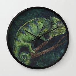 Camaleón Wall Clock