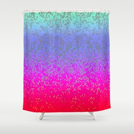 Glitter Star Dust G244 Shower Curtain