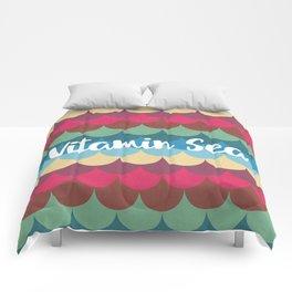 Vitamin Sea Pattern Comforters