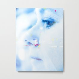 multiexposure Metal Print