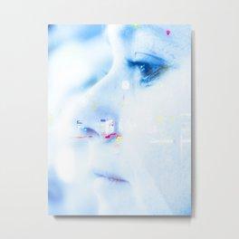 multiexposure Metal Print