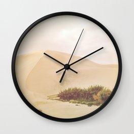 Desert Oasis Circle Wall Clock
