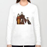 zuko Long Sleeve T-shirts featuring Happy Family by wolfanita