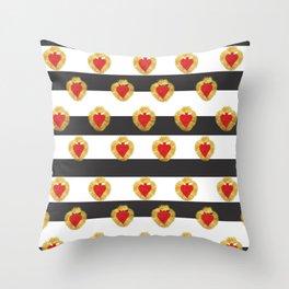 Sailor Heart Throw Pillow