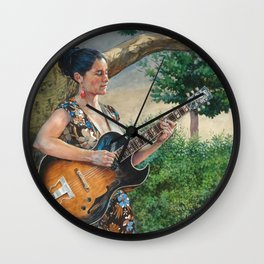 Summer Concert Wall Clock