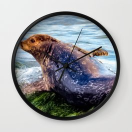 Bathing Beauty Wall Clock