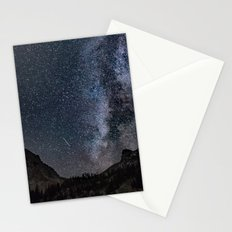 Perseid Over Sacagawea Peak Stationery Cards