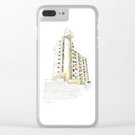 Hooper Street, Wellington Clear iPhone Case