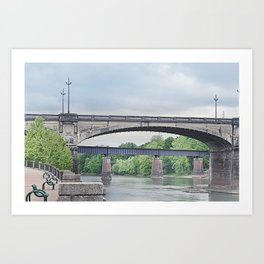 Dillingham Street Bridge Art Print