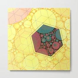 Sunsquare Metal Print
