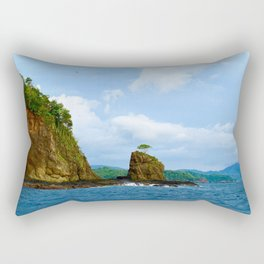 Playa Potrero Rectangular Pillow