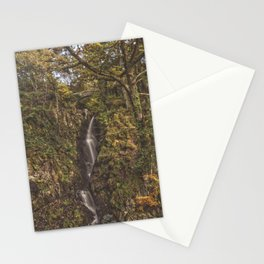 Autumnal Waterfall. Stationery Cards