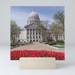 Capitol Spring 1, Madison Wisconsin Mini Art Print
