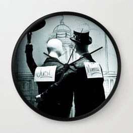 Legalize x Just Married! Wall Clock