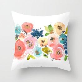 Floral POP #2 Throw Pillow