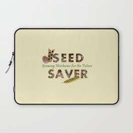 Saving Seeds for the Future Laptop Sleeve