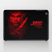 dexter iPad Cases featuring Dexter by fajnawizja