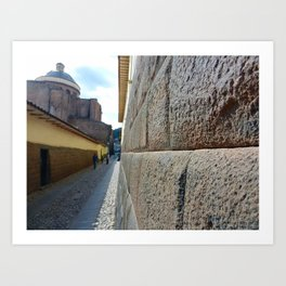 Cuzco Alley 2011 Art Print