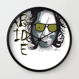 The Dude - Big Lebowski INK Wall Clock