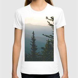 Silhouetted Mountains T-shirt