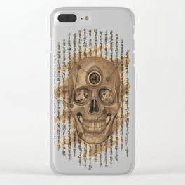 Life Skull Clear iPhone Case