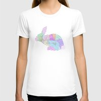 rabbit T-shirts featuring Rabbit by nessieness