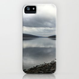 Hemlock lake iPhone Case
