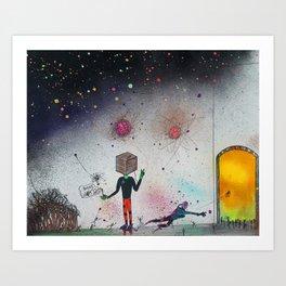 """""""The Cuben"""" Art Print"""